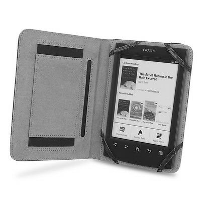 Cover-Up Sony PRS-T1 / T2 Reader Book Grip Cover Case - Black