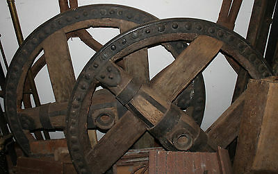 RUEDAS VASCAS s.XIX DECORATIVAS - BASQUE WHEELS 19th CENTURY DECORATIVE