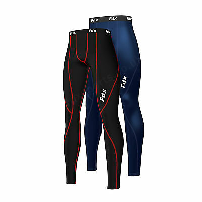 FDX Mens Athletic Compression Base layer pant legging tight running under tight