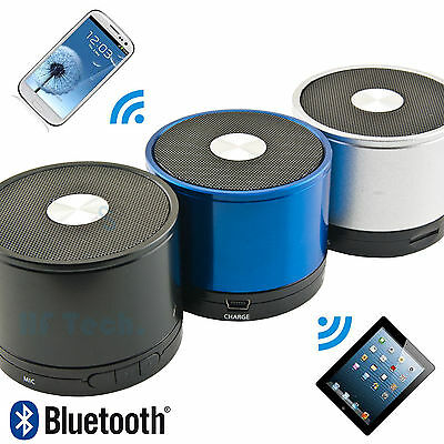 Wireless Bluetooth Lautsprecher 09 Kabellos MP3 Player SmartPhone Handy Laptop