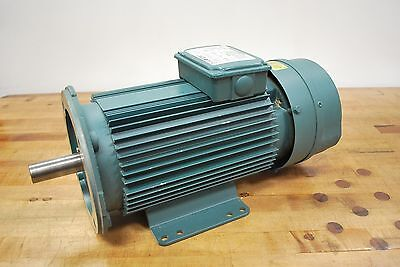 Reliance P18A8204M 5hp Motor 230-460vac 1718rpm with 115v Blower Assembly