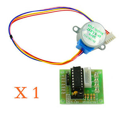 DC 5V Stepper Motor + ULN2003 Driver Test Module Board 28BYJ-48 for Arduino