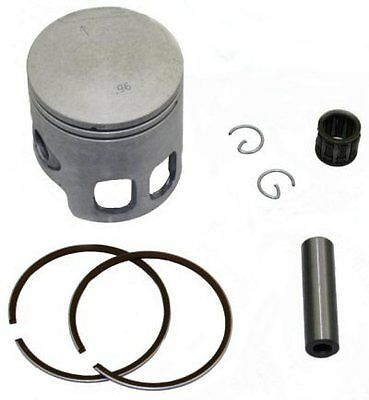 90cc PISTON AND RING SET  50mm / 12mm PIN FOR JOG, MINARELLI, 2 STROKE MOTORS