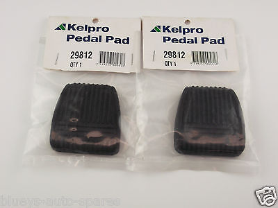 Toyota Hilux Brake & Clutch Pedal Pad Kit Suits Ln,rn,rzn,kzn Models 1988-2006