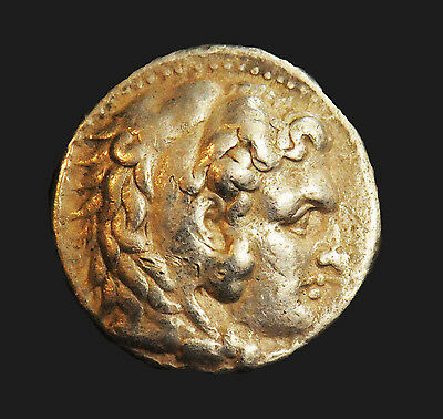 Aphrodite- Ancient Greek Silver Tetradrachm Of Alexander Iii The Great