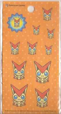Pokemon Victini 11 Stickers 1pcs Poke Doll Pokemon Center 2011