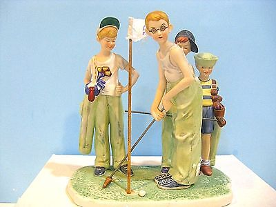 "Norman Rockwell  "" Missed ""  Figurine"