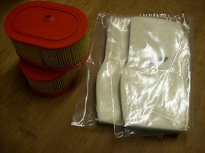 2 Air Filter Sets for Partner K950 Cutoff Saw / K950 Chain Saw or K950 Ring Saw