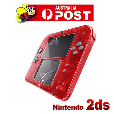 1x SET HD CLEAR LCD SCREEN PROTECTOR cover film guard for Nintendo 2DS