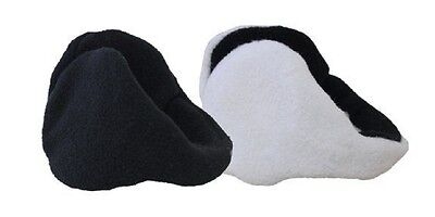 NWT From The Blue By 180's Lady's Ear Warmers 2 Item Bundle 1 White + 1 Black