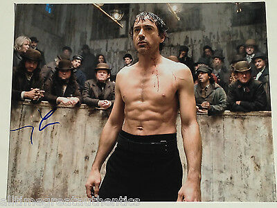 Actor Robert Downey Jr Signed Sherlock Holmes 11X14 Photo W/Coa Iron Man
