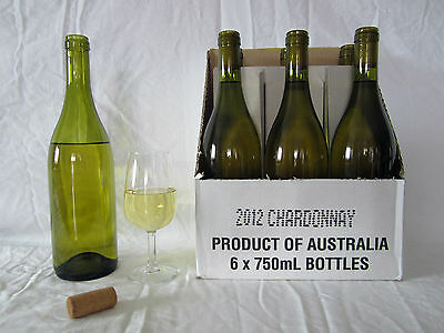 White wine Chardonnay 2012 clean skins 12 x 750 ml bottles