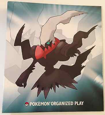 Pokemon Darkrai large Map Portfolio Binder 9 Pocket Organized Play 2008