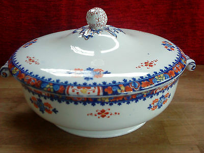 Vintage Booths Silicon Early Shape Vegetable Serving Tureen & Lid Harrods A1234Y