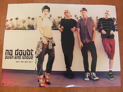 NO DOUBT - Push And Shove [OFFICIAL] POSTER *NEW*
