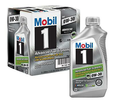 Mobil 1 Engine Oil 0W30 6-Quart (5.7 litres)