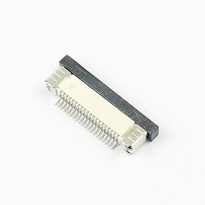5Pcs FPC FFC 0.5mm Pitch 20 Pin Drawer Type Ribbon Flat Connector Bottom Contact