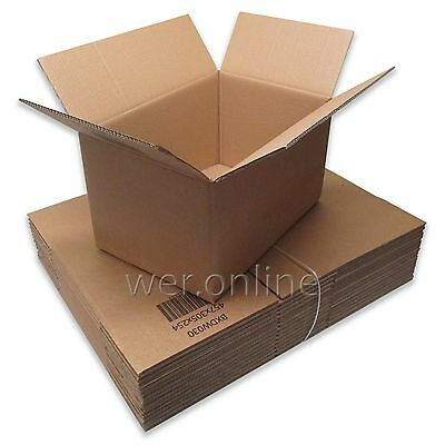 "18 x 12 x 10"" Strong A3 Size Packing Postal Mail Double Wall Cardboard Boxes"