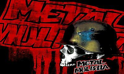 METAL MULISHA BANNER #20,  Flag Sign Motocross Dirtbike Moto Wall Art