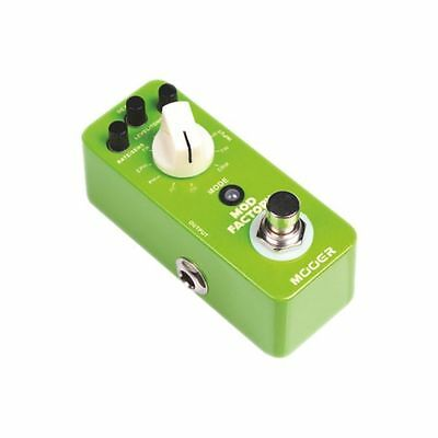 Mooer Micro Series Mod Factory Multi Modulation Guitar Effects Pedal - BRAND NEW
