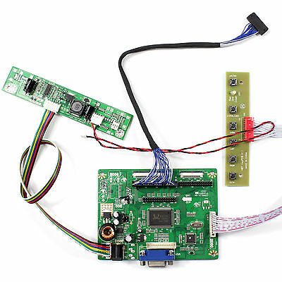 """VGA LCD Controller Board For 10.4"""" AA104VH01 640x480 LED Backlight Lcd Panel"""