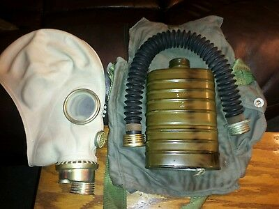 Gas Mask With Filter & Bag