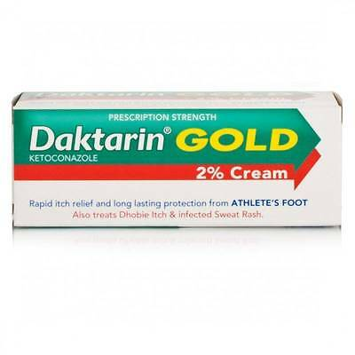 Daktarin Gold Cream - 15g Fungal Infections,Infected Sweat Rash & Athlete's Foot