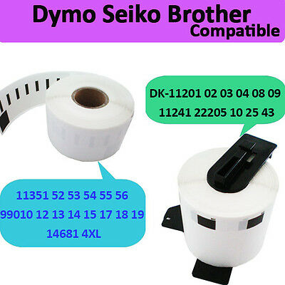 Address Roll Label Brother Dymo Seiko Printer Compatible Self Adhesive Sticky