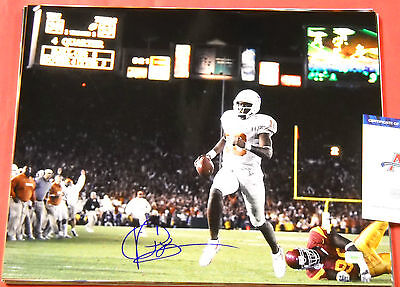 Vince Young Autographed Texas Longhorns 16X20 Photo Aaa
