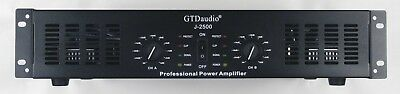 2 Channel 6500 Watts Professional Power Amplifier AMP Stereo GTD-Audio 350