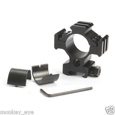 1pc Tri-Rail 25mm/30mm Ring Scope Mount for Weaver Picatinny Rail adapter M46