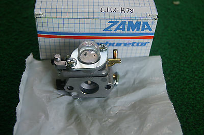 Genuine Zama Carburetor C1U-K78 = Echo # A021000941  * New *