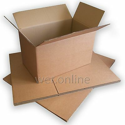 "30"" x 20"" x 20"" Thick Strong Home Removal Packing Double Wall Cardboard Boxes"