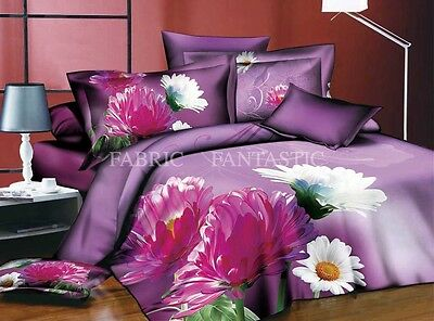 M212 Queen/King Size Bed Duvet/Doona/Quilt Cover Set New