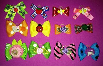Assorted Pack with 100 Dog Bows