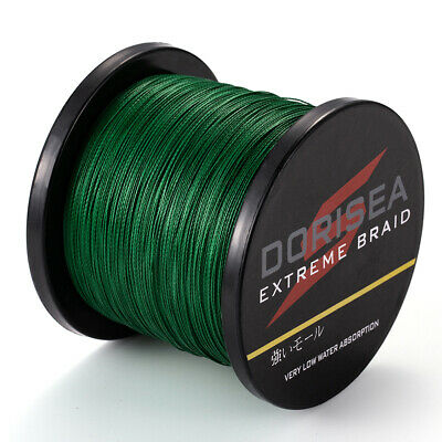 300M Moss Green Spectra Super Strong Dyneema PE Braided Sea Fishing Line