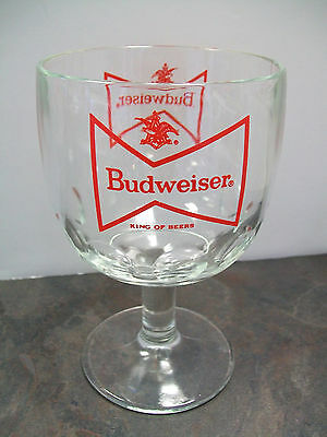 """BUDWEISER """"KING OF BEERS"""" DRINKING GLASS"""