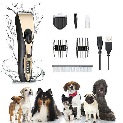 Ownpets Anti No Bark Shock Dog Trainer Stop Barking Pet Training Control Collar