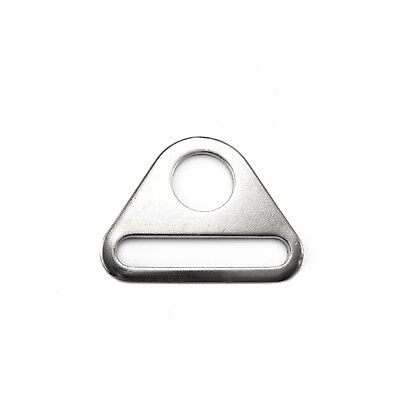 Solid cast large D Ring buckles snap hook adjusters triangle with bar molded APR