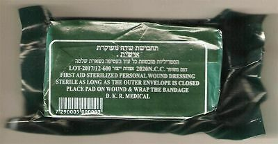 "3 Pack- Israeli 6"" Trauma Bandages Military Tactical Emergency Dressing IDF IFAK"