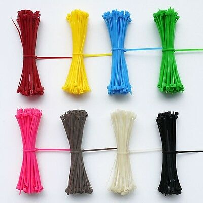 100pcs 3*100mm Self-locking Cable Tie Network cabling Tag Nylon marked Ties