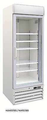 One Door Colourbond Glass Upright Freezer for Display in Kitchen, Restaurant