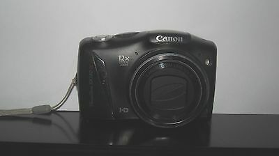 Canon PowerShot SX130 IS 12.1 MP Digital Camera - Black - CAMERA ONLY