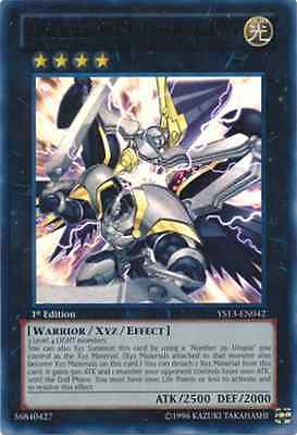 Number C39: Utopia Ray (YS13-EN042) - Ultra Rare - Near Mint - 1st Edition