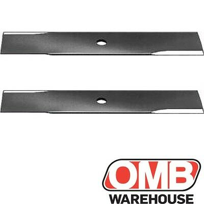 "(2) Edger Blades 10 x 1/2"" Sharpened 4 Sides Replaces Prime Line 7-04441"