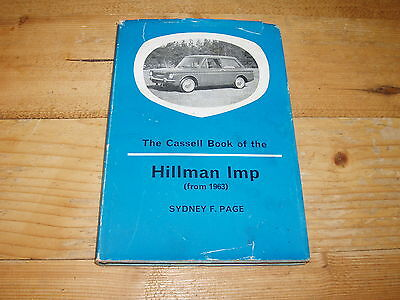 The Cassell Book of the Hillman Imp (From 1963)
