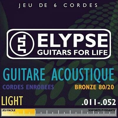 Elypse - Jeu de cordes pour guitare folk - AS-573C