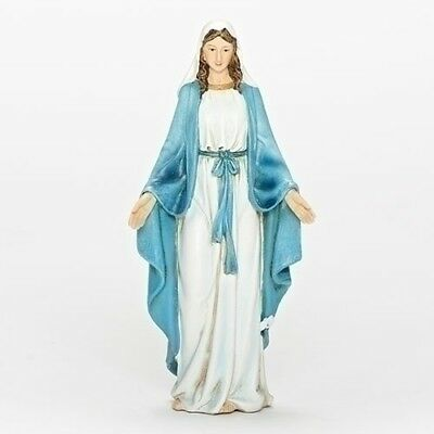 "NEW! 6"" Our Lady of Grace Statue Figurine Virgin Mary Madonna Figure Gift 60686"