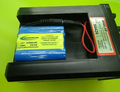 2500 Battery & Peak Charger For Minelab Sovereign Xs / Made In Usa
