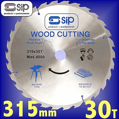 SIP 06156 30T 315mm Ripping Circular Saw Blade for 01541 / 01446 Table Saw rip